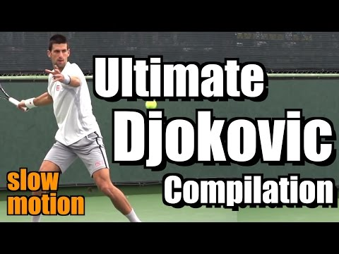 Novak Djokovic Ultimate Slow Motion Compilation - Forehand - Backhand - Serve - 2013 Indian Wells