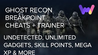 Ghost Recon Breakpoint Trainer +8 Cheats