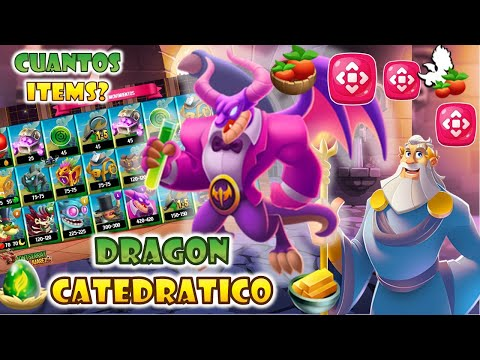 DRAGON CITY: ISLA PUZZLE MANSION MISTERIOSA [CUANTOS ITEMS Y MISIONES] DRAGON PETROLEO CATEDRATICO