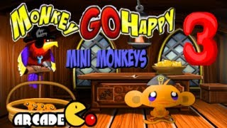 Monkey Go Happy Mini Monkeys 3 Walkthrough HD