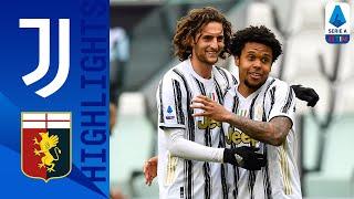 Juventus 3-1 Genoa | La Juve cala il tris con il Genoa | Serie A TIM