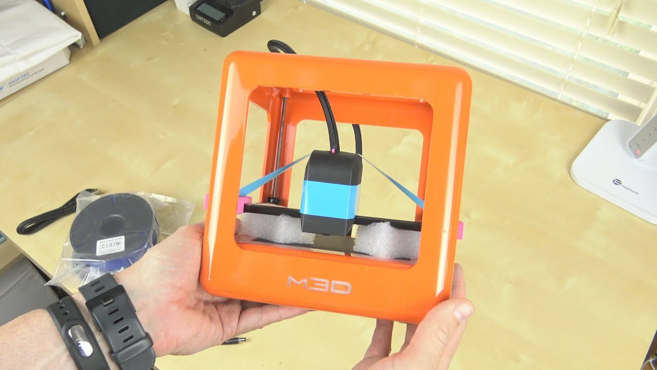 3d Micro M3d Micro 3d Printer Unboxing And First Print Sample
