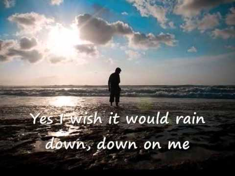 I Wish it Would Rain Down  with Lyrics    Phil Collins