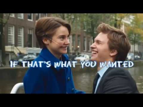 """What You Wanted - OneRepublic - from """"The Fault In Our Stars"""" (Lyrics+Pictures)"""