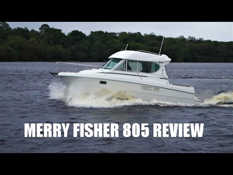 Jeanneau Merry Fisher 805 Review And Sea Trial