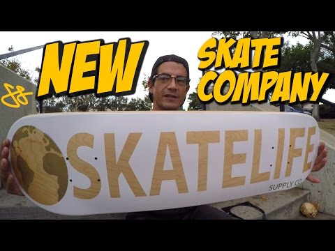 NEW SKATE COMPANY UNBOXING & BOARD SETUP SKATELIFE SUPPLY