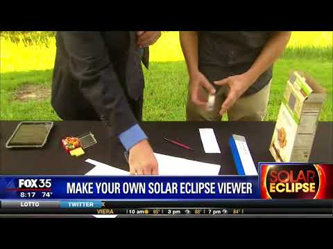 How can i make solar eclipse glasses