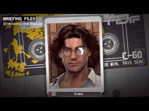 Metal Gear Solid: Peace Walker Kasetler Türkçe Altyazılı