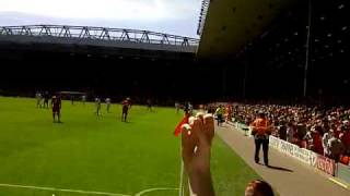 Newcastle fans abuse Andy Carroll vs Liverpool