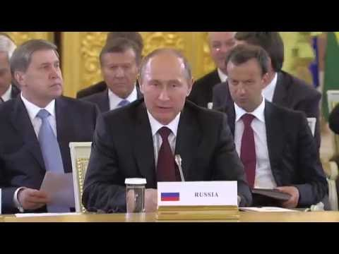 Vladimir Putin. Speech at the Second Summit of Gas Exporting Countries Forum
