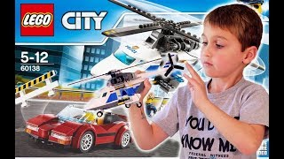 LEGO CITY High-speed Chase (60138) Unboxing, Timelapse Build, Review, and Play Fun