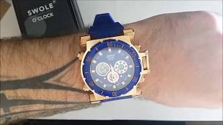 Swole O Clock Blue Carbon Limited Edition Unboxing, Review and First Impressions