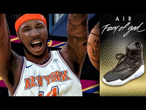 """DOMINATING IN RARE NIKE """"FEAR OF GOD 1s""""! NBA 2K19 My Career Gameplay Ep. 13"""