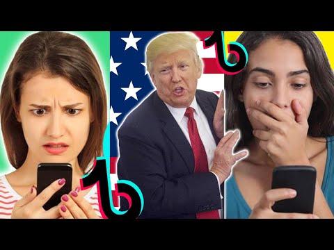 TIKTOK BAN by Donald Trump is Making People Go Crazy | TikTok Compilation