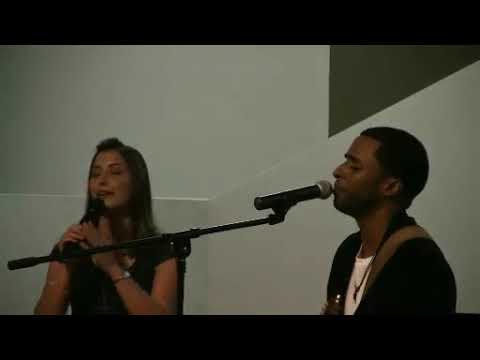 Viviana Monterroza y Edwin Acosta a duo