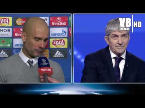 Juventus Bayern Monaco 2 2: Intervista a Guardiola