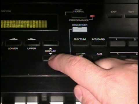 Roland D series Tone / Patch editing Basics