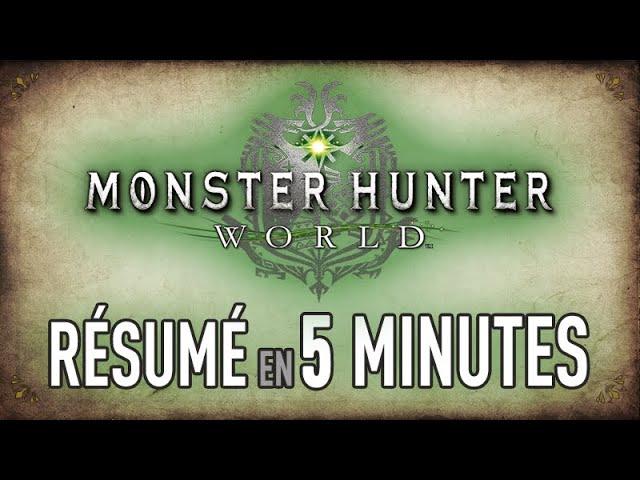 L'HISTOIRE de MH World en 5 MIN