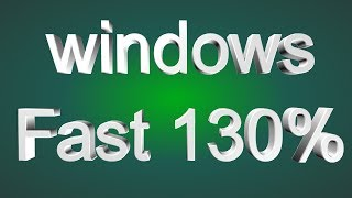 how to fast windows 10 operating system