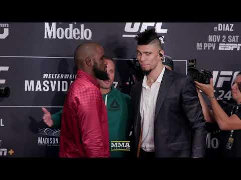 UFC 244 Media Day Staredowns - MMA Fighting