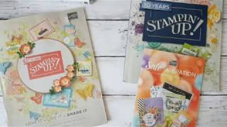 Stampin'Up! Japanスタンピンアップ公認デモンストレーターウェラード里美がお送りする2019年オケージョンカタログ&セラブレーションキャンペーンパンフレットお披露目FBライブチャット
