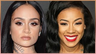 "Keyshia Cole Tells Kehlani To ""Shut The F@%! Up"""