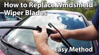 How Change Windshield Wiper Blades Car