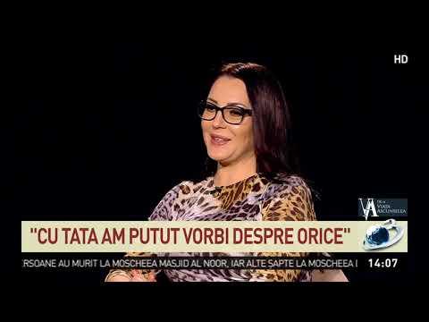 Angela Rusu invitata in emisiunea Florentinei Fantanaru, De-a viata ascunselea, la Antena 3