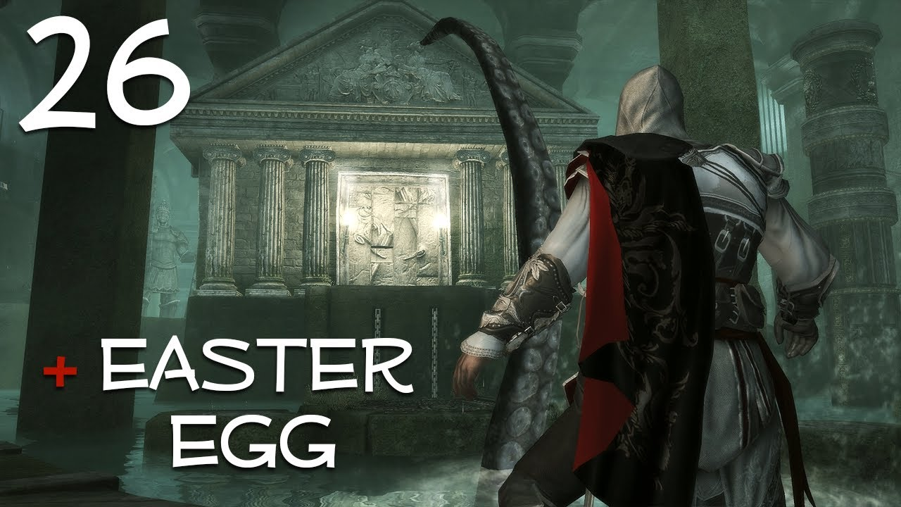 Assassin's Creed 2 - Octopus / Giant Squid Easter Egg ...