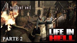 RE 4 Mod Life In Hell - Proibido usar tmp, shotguns e BAZUCA #2
