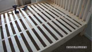 Diy: Wooden Bed Frame... (pine)