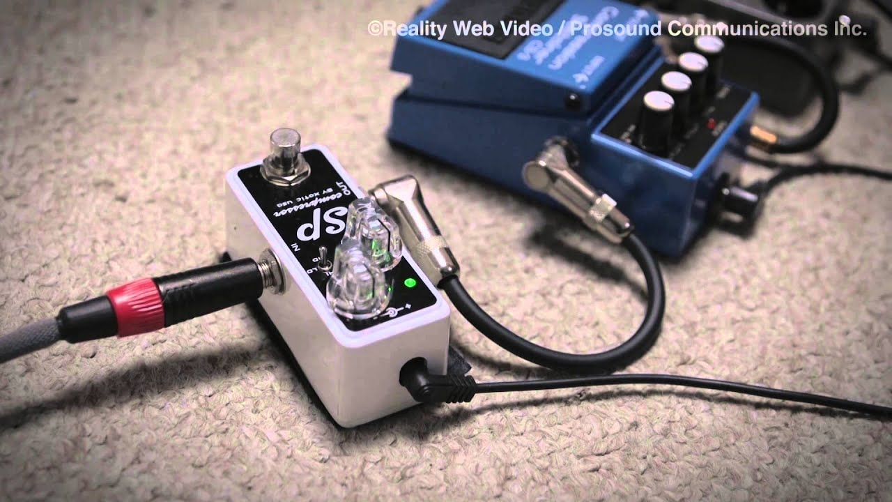 Xotic SP Compressor | Axe... And You Shall Receive on