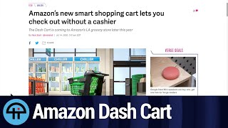 Amazon Demos Dash Cart