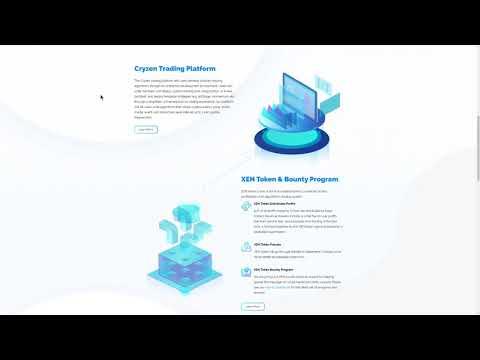 Cryzen algorithmic trading platform (XEN)