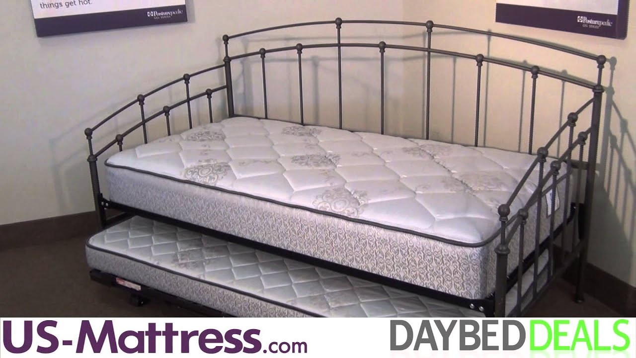Fashion Bed Group Fenton Daybed - YouTube