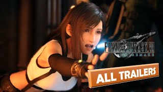 Final Fantasy 7 Remake All Trailers Extended