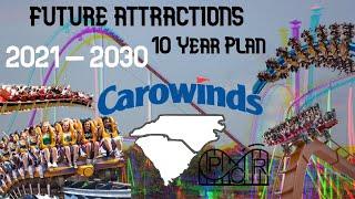 Christmas At Carowinds Dates 2021 Carowinds 10 Year Plan 2021 2030 Youtube