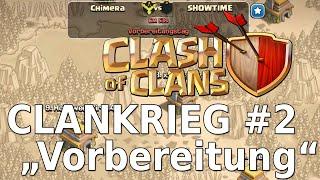 """Clash of Clans - Clanwar #2 """"Wie komm ich an die 6 Sterne?"""" [TH6] [Deutsch/German]"""