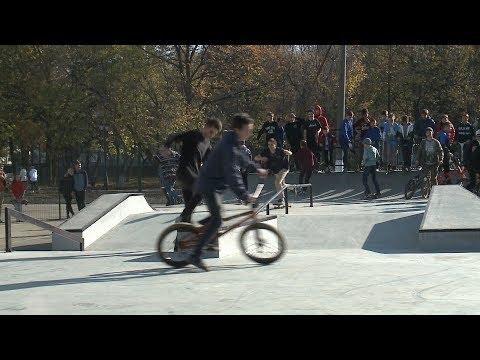 В Невинномысске рядом с ДК «Химиков» открыли скейт-парк
