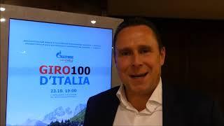 Robert Bartko Interview in Berlin bei Präsentation von dem Film über Gazprom-RusVelo