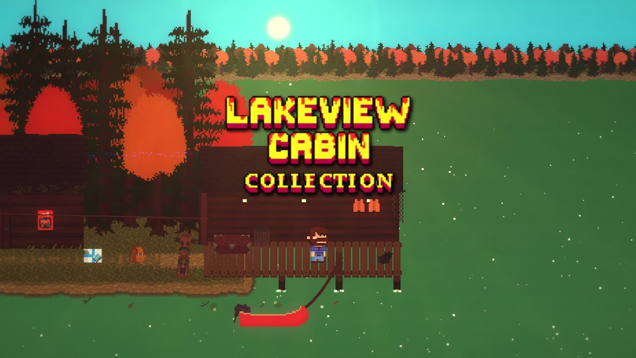Lakeview Cabin Collection PC Gameplay 60FPS  YouTube