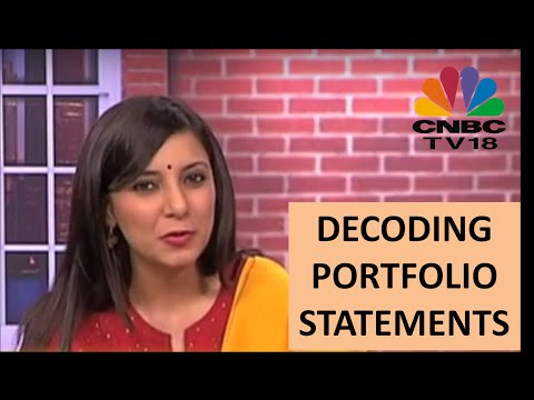 How To Read A Portfolio Statement
