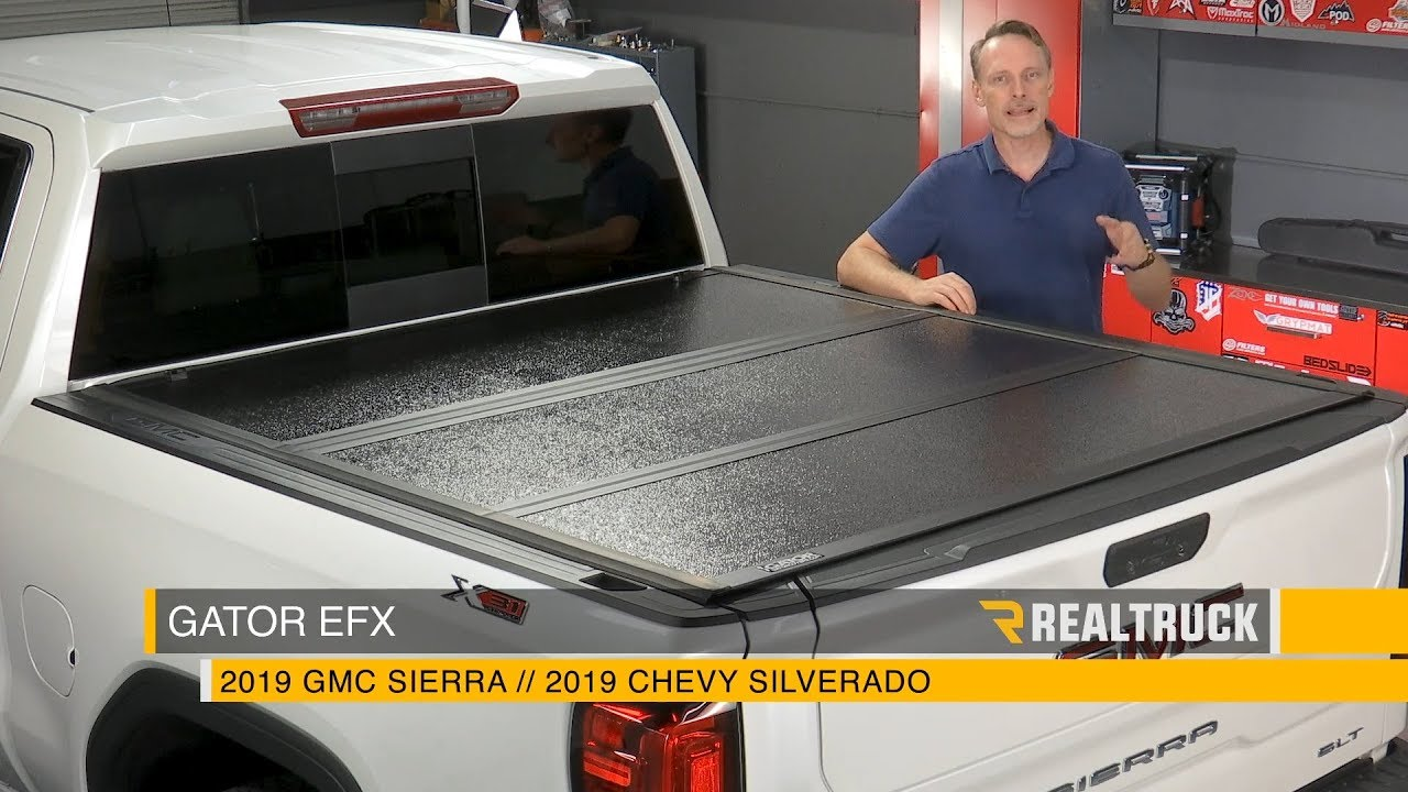 How To Install Gator Efx Hard Fold Tonneau Cover On A 2019 Gmc Chevy 1500 Youtube