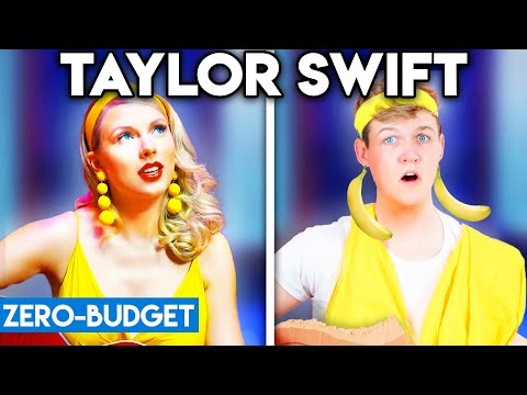 TAYLOR SWIFT WITH ZERO BUDGET! (Lover PARODY)