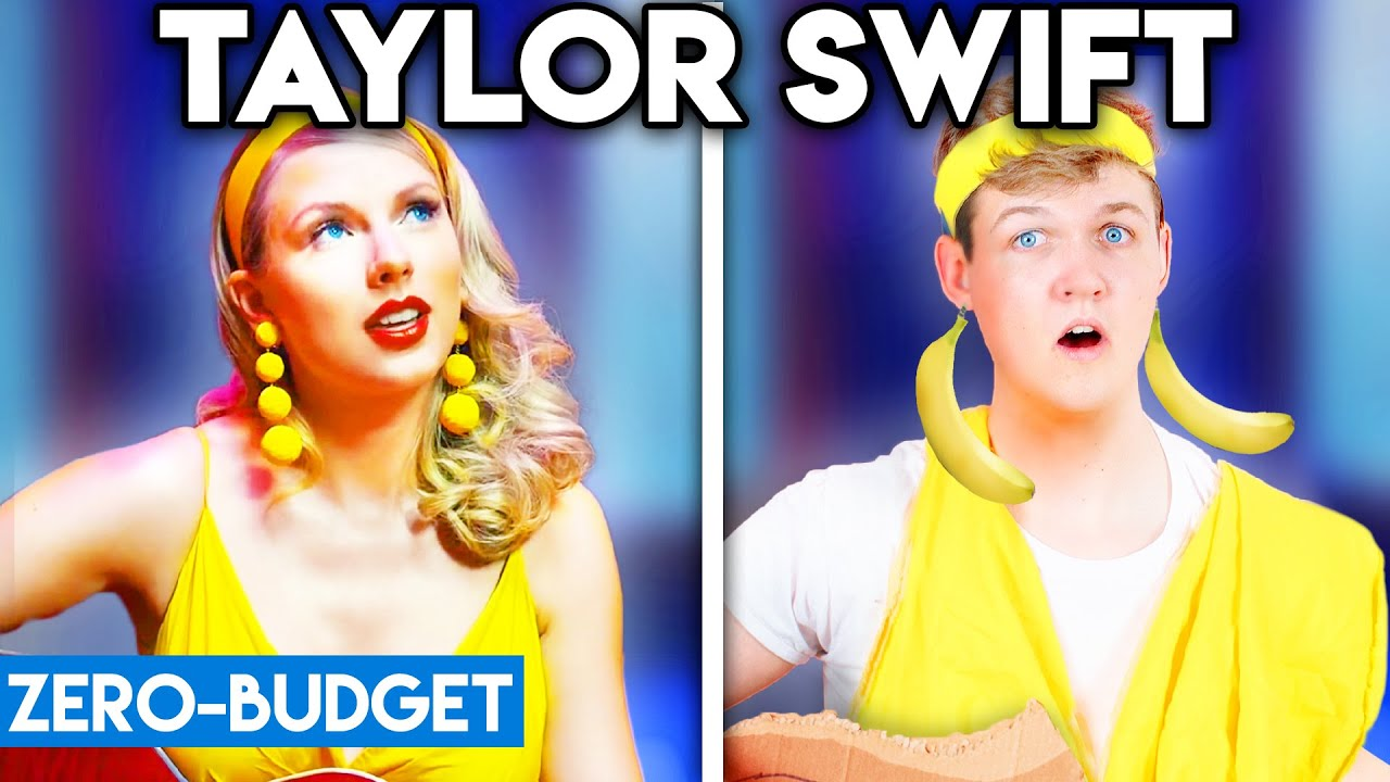 TAYLOR SWIFT WITH ZERO BUDGET! (Lover PARODY)