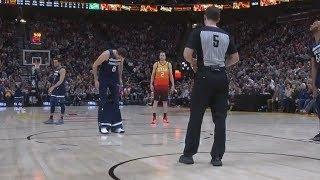 Nemanja Bjelica Pulls Down Shorts In Middle Of Game Vs Jazz! Jazz vs Timberwolves!