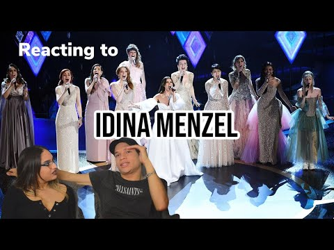 Waleska & Efra react to Idina Menzel - AURORA - Into the Unknown (Live from the 92nd Academy Awards)