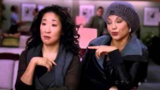 Cristina and Callie