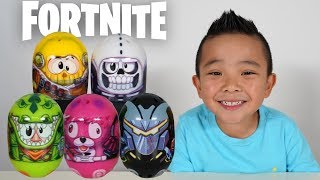 MIGHTY BEANZ FORTNITE Epic Race Fun With CKN Toys