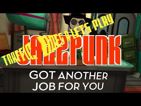 JAZZPUNK - This is the end, but what does the other button do?